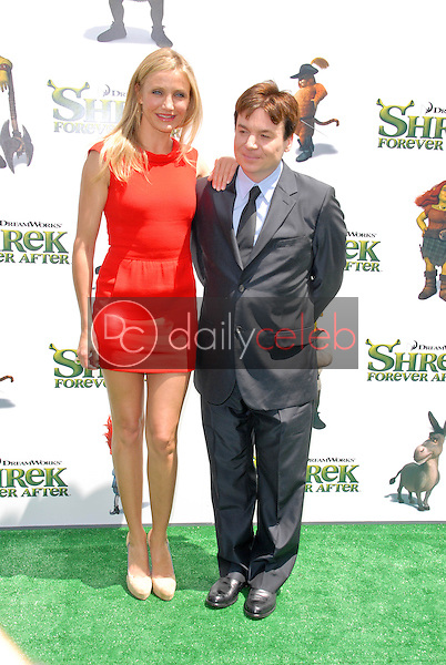 Cameron Diaz and Mike Myers<br />
