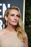 Golden Globe nominee Julia Roberts attends the 76th Annual Golden Globe Awards at the Beverly Hilton in Beverly Hills, CA on Sunday, January 6, 2019.<br /> *Editorial Use Only*<br /> CAP/PLF/HFPA<br /> Image supplied by Capital Pictures