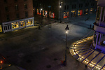 South Street Seaport Fulton Street at Night pt 2