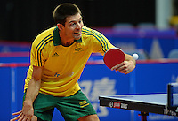 Patrick Horn (AUS)<br /> 2013 ITTF PTT Oceania Regional<br /> Para Table Tennis Championships<br /> AIS Arena Canberra ACT AUS<br /> Wednesday November 13th 2013<br /> © Sport the library / Jeff Crow