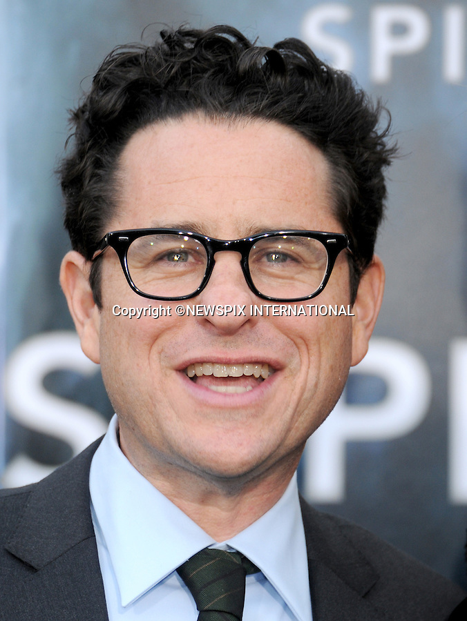 """JJ ABRAMS.attends the Los Angeles Premiere of """"Super 8"""" at the Regency Village Theater on June 8, 2011, Westwood, California.Mandatory Photo Credit: ©Crosby/Newspix International. .**ALL FEES PAYABLE TO: """"NEWSPIX INTERNATIONAL""""**..PHOTO CREDIT MANDATORY!!: NEWSPIX INTERNATIONAL(Failure to credit will incur a surcharge of 100% of reproduction fees)..IMMEDIATE CONFIRMATION OF USAGE REQUIRED:.Newspix International, 31 Chinnery Hill, Bishop's Stortford, ENGLAND CM23 3PS.Tel:+441279 324672  ; Fax: +441279656877.Mobile:  0777568 1153.e-mail: info@newspixinternational.co.uk"""