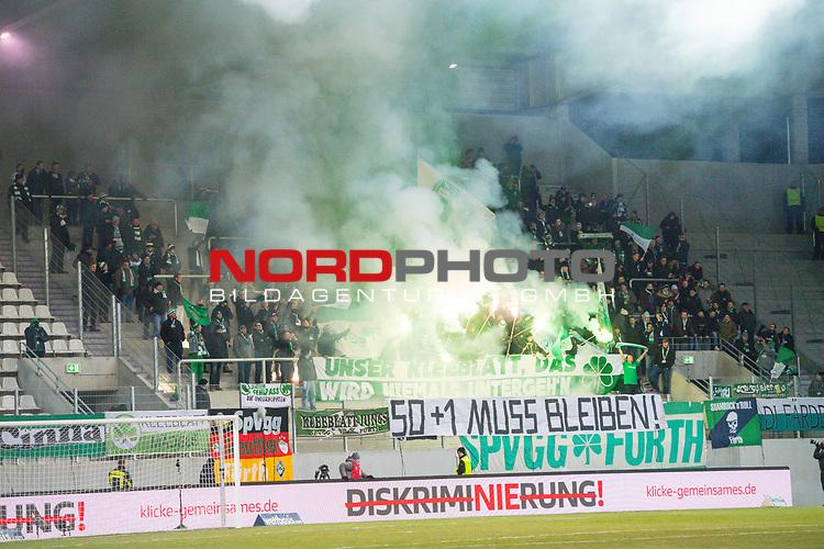 i19.03.2018, Erzgebirgsstadion, Aue, GER, 2. FBL, FC Erzgebirge Aue vs. SpVgg Greuther F&uuml;rth/Fuerth, im Bild<br /> <br /> <br /> <br /> <br /> Foto &copy; nordphoto / Dostmann