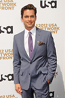 Matt Bomer attends USA Network's 2012 Upfront Event at Lincoln Center's Alice Tully Hall in New York, 17.05.2012.  Credit: Rolf Mueller/face to face /MediaPunch Inc. ***FOR USA ONLY***