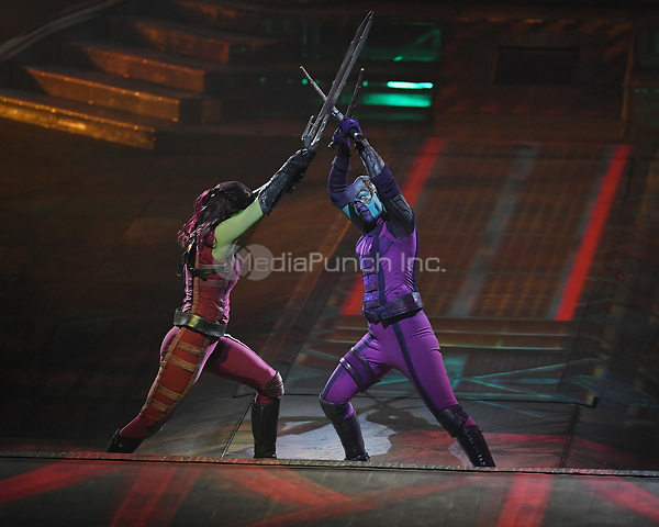SUNRISE FL - JANUARY 10: Marvel Universe Live! Age Of Heroes at The BB&T Center on January 10, 2019 in Sunrise, Florida. Credit: mpi04/MediaPunch
