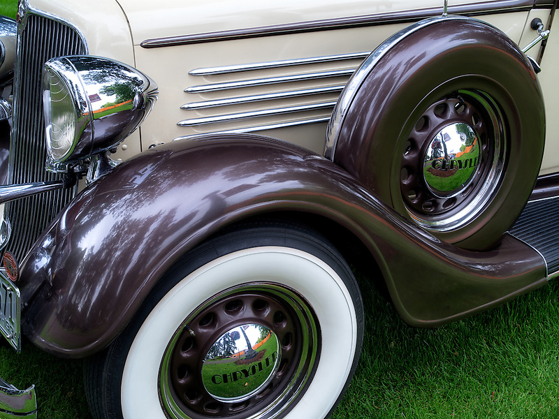 Restored 1934 Chrysler sedan. Oregon