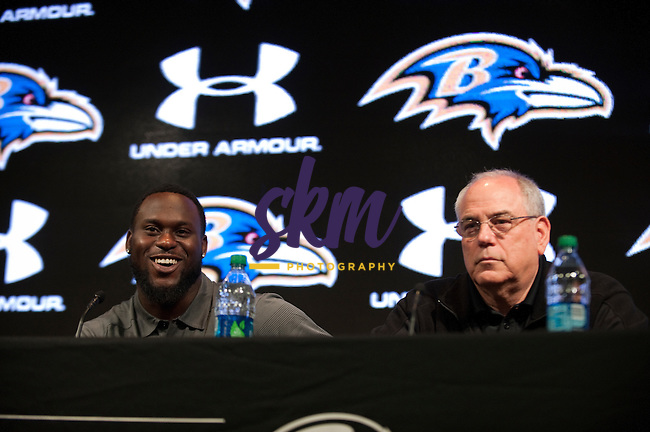 The Baltimore Ravens held a press conference Friday afternoon at Under Armour Performance Center to introduce 1st Round Draft pick,  safety Matt Elam from Florida.