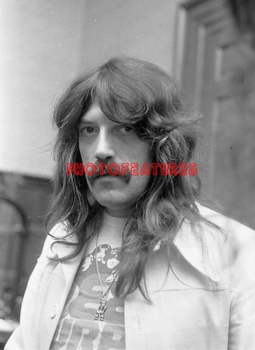Deep Purple 1971 Jon Lord. © Chris Walter.