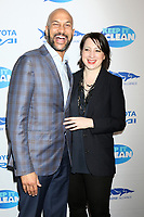 """LOS ANGELES - MAR 1:  Keegan-Michael Key, Elisa Pugliese at the """"Keep It Clean"""" Benefit for Waterkeeper Alliance at Avalon on March 1, 2018 in Los Angeles, CA"""