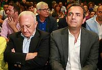 Vincenzo De Luca presidente della regione Campania &egrave; stato sospeso dal suo incarico per effetto legge severino<br />  nella foto con Luigi De Magisrtis