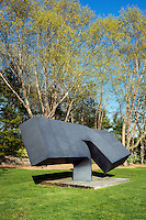 """Offshoot,"" by Clement Meadmore, Grounds for Sculpture, Hamilton, New Jersey, USA"