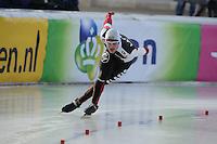 SCHAATSEN: BOEDAPEST: Essent ISU European Championships, 08-01-2012, 1500m Men, Haralds Silovs LAT, ©foto Martin de Jong