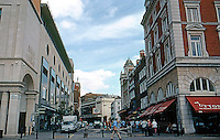 London: Covent Garden, looking east past Dow Street to Drury Lane.  Photo '05.