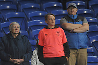 Huddersfield Town Fans look on at the final whistle <br /> <br /> Photographer Ian Cook/CameraSport<br /> <br /> The EFL Sky Bet Championship - Cardiff City v Huddersfield Town - Wednesday August 21st 2019 - Cardiff City Stadium - Cardiff<br /> <br /> World Copyright © 2019 CameraSport. All rights reserved. 43 Linden Ave. Countesthorpe. Leicester. England. LE8 5PG - Tel: +44 (0) 116 277 4147 - admin@camerasport.com - www.camerasport.com