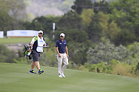 Kevin Kisner (USA) on the 2nd during the 1st round at the WGC Dell Technologies Matchplay championship, Austin Country Club, Austin, Texas, USA. 22/03/2017.<br /> Picture: Golffile | Fran Caffrey<br /> <br /> <br /> All photo usage must carry mandatory copyright credit (&copy; Golffile | Fran Caffrey)