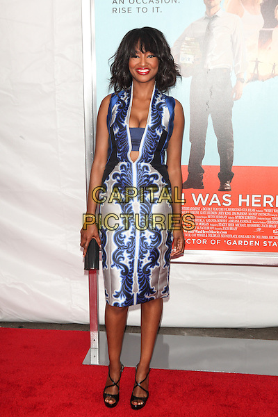 NEW YORK, NY - JULY 14: Nichole Galicia attends the 'Wish I Was Here' screening at AMC Lincoln Square Theater on July 14, 2014 in New York City.  <br /> CAP/MPI/COR<br /> &copy;COR/MPI/Capital Pictures