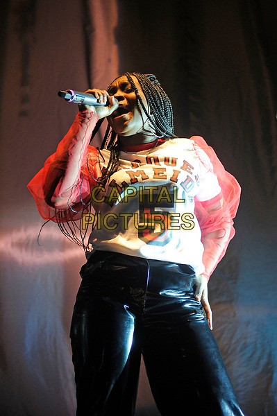 LONDON, ENGLAND - MARCH 21: Ray BLK(Rita Ekwere) performing at Brixton Academy on March 21, 2017 in London, England.<br /> CAP/MAR<br /> &copy;MAR/Capital Pictures
