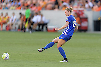 Houston, TX - Sunday Sept. 11, 2016: Rachel Wood during a regular season National Women's Soccer League (NWSL) match between the Houston Dash and the Boston Breakers at BBVA Compass Stadium.