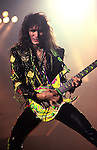 Steve Vai of Whitesnake performs at Madison Square Garden in New York US