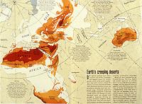 World Civilization:  Deserts of Eastern Hemisphere.  Photo '91.