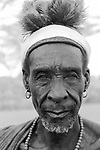 A Turkana  elder (his name is Mateo),<br /> Kakuma, Northern Kenya.  <br /> Mateo fought against the Italians for the British  King Own Rifles during the border wars with Ethiopia.