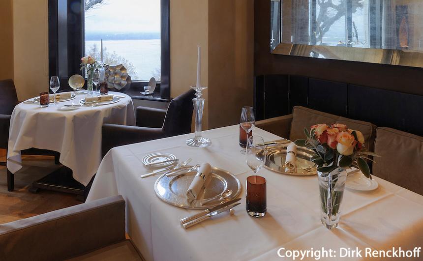 Restaurant Seven Seas auf dem Süllberg, Hamburg-Blankenese, Deutschland