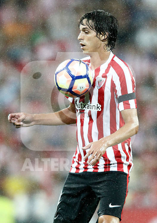 Athletic de Bilbao's Ander Iturraspe during La Liga match. August 28,2016. (ALTERPHOTOS/Acero)