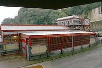 Acquedotto di Napoli serbatoi e impianto di sollevamento di Capodimonte Scudillo