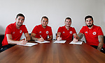 180717 Sheffield Utd Four Sign New Contracts