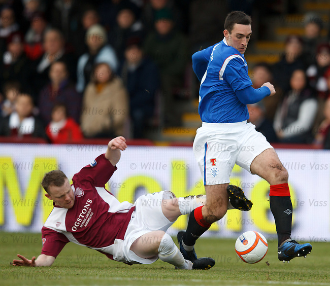 Mark Baxter and Lee Wallace