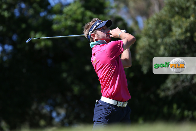 Jbe Kruger (RSA) on the 10th tee during Round Three of the Africa Open 2015 at the East London Golf Club, East London, Eastern Cape, South Africa. Picture:  David Lloyd / www.golffile.ie. 07/03/2015
