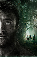 Jungle (2017)<br /> Promotional art with Daniel Radcliffe, Alex Russell, Joel Jackson &amp; Thomas Kretschmann<br /> *Filmstill - Editorial Use Only*<br /> CAP/KFS<br /> Image supplied by Capital Pictures