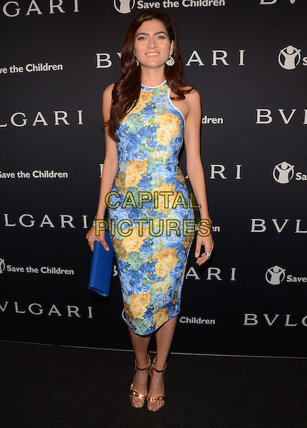 17 February 2015 - Beverly Hills, Ca - Blanca Blanco. BVLGARI and Save the Children launches Stop.Think.Give., a collection of celebrity portraits photographed by Fabrizio Ferri held at Spago. <br /> CAP/ADM/BT<br /> &copy;BT/ADM/Capital Pictures