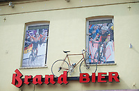 cyclomad café at the base of the Cauberg<br /> <br /> Amstel Gold Race 2014