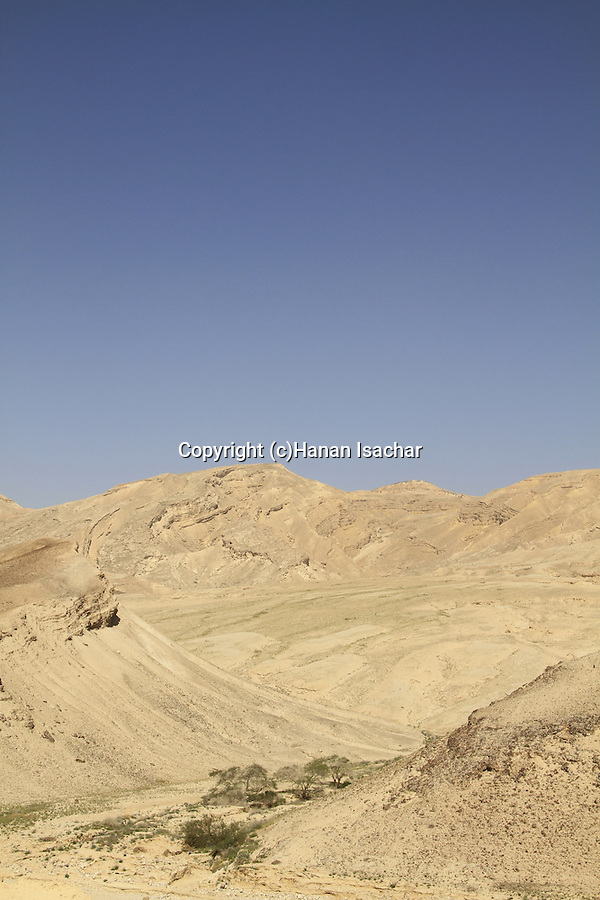 Israel, Mount Hehalak in the Negev