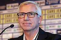 2nd January 2020, The Hague, Holland;  ADO Den Haag new coach Alan Pardew during the presentation