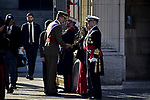 King Felipe VI of Spain and Margarita Robles attends to Pascua Militar at Royal Palace in Madrid, Spain. January 06, 2019. (ALTERPHOTOS/Pool)