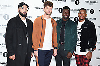 Rak-Su<br /> arriving for the Radio 1 Teen Awards 2018 at Wembley Stadium, London<br /> <br /> ©Ash Knotek  D3454  21/10/2018