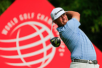 Chez Reavie (USA) on the 2nd tee during the 2nd round at the WGC HSBC Champions 2018, Sheshan Golf CLub, Shanghai, China. 26/10/2018.<br /> Picture Fran Caffrey / Golffile.ie<br /> <br /> All photo usage must carry mandatory copyright credit (&copy; Golffile | Fran Caffrey)