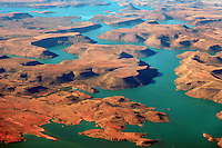 Vanderkloof Dam: AFRIKA, SUEDAFRIKA, ORANGE FREE STATE, NORTHERN CAPE, VANDERKLOOF, 11.01.2014: Vanderkloof Dam ist ein Stausee des groessten Flusses dem Oranje River in Suedafrika.