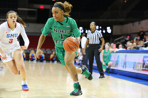 DALLAS TX, NOVEMBER 29: University of North Texas Mean Green Womens Basketball v SMU Mustangs at Super Pit -  UNT Coliseum  in Denton on November 20, 2016 in Denton, TX. (Rick Yeatts)