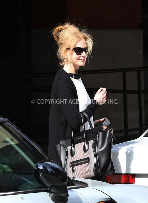 WWW.ACEPIXS.COM<br /> <br /> July 9 2013, New York City<br /> <br /> Nicole Kidman seen leaving a dontown hotel on July 9 2013 in New York City<br /> <br /> By Line: Zelig Shaul/ACE Pictures<br /> <br /> <br /> ACE Pictures, Inc.<br /> tel: 646 769 0430<br /> Email: info@acepixs.com<br /> www.acepixs.com