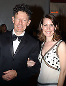 Country singer Lyle Lovett and April Kimble arrive at the John F. Kennedy Center for the Performing Arts to honor  five arts legends in Washington, DC on  December 7, 2003 .  The 2003 Kennedy Center Honorees are: Musician James Brown, actress Carol Burnett, singer Loretta Lynn, director Mike Nichols and violinist Izthak Perlman..Credit: Ron Sachs / CNP