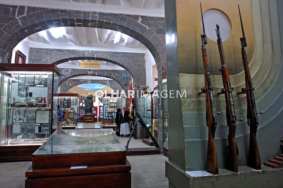 Museu Militar na cidade de Sanaa capital do Yemen. 2008. Foto de Caio Vilela.