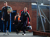 Burnley's Nick Pope arrives at Selhurst Park<br /> <br /> Photographer Ashley Crowden/CameraSport<br /> <br /> The Premier League - Crystal Palace v Burnley - Saturday 13th January 2018 - Selhurst Park - London<br /> <br /> World Copyright &copy; 2018 CameraSport. All rights reserved. 43 Linden Ave. Countesthorpe. Leicester. England. LE8 5PG - Tel: +44 (0) 116 277 4147 - admin@camerasport.com - www.camerasport.com