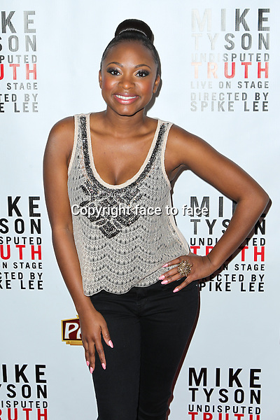 "Naturi Naughton attending the ""Mike Tyson: Undisputed Truth"" Los Angeles Opening Night held at The Pantages Theatre on March 8, 2013 in Hollywood, California. ..Credit: MediaPunch/face to face..- Germany, Austria, Switzerland, Eastern Europe, Australia, UK, USA, Taiwan, Singapore, China, Malaysia and Thailand rights only -"