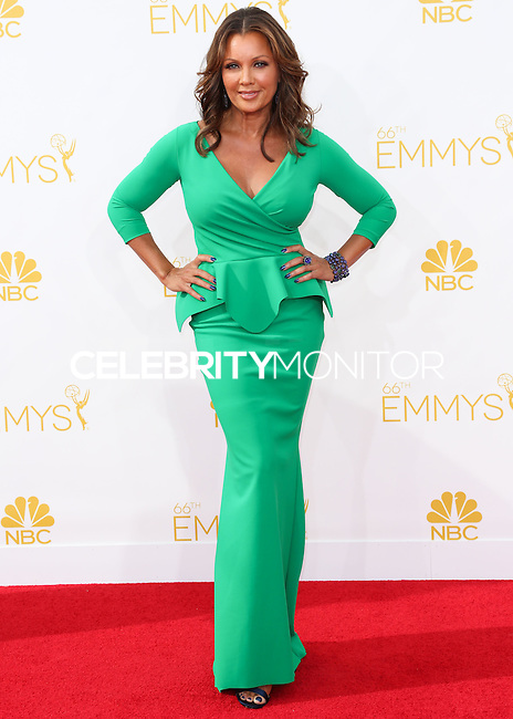 LOS ANGELES, CA, USA - AUGUST 25: Actress Vanessa L. Williams arrives at the 66th Annual Primetime Emmy Awards held at Nokia Theatre L.A. Live on August 25, 2014 in Los Angeles, California, United States. (Photo by Celebrity Monitor)