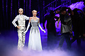London, UK. 15.12.2017. Matthew Bourne's CINDERELLA returns to Sadler's Wells and runs until January 27th 2018. Picture shows: Liam Mower (The Angel), Cordelia Braithwaite (Cinderella). Photograph © Jane Hobson.