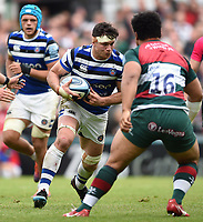 Francois Louw of Bath Rugby in possession. Gallagher Premiership match, between Leicester Tigers and Bath Rugby on May 18, 2019 at Welford Road in Leicester, England. Photo by: Patrick Khachfe / Onside Images