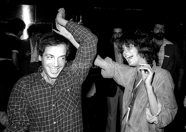 1978 <br /> New York City<br /> Steve Rubell with Ali McGraw at Studio 54<br /> Credit: Adam Scull-PHOTOlink/MediaPunch