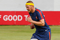 Jamie Porter of Essex runs in to bowl during Essex CCC Training at The Cloudfm County Ground on 22nd July 2020